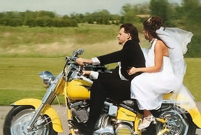 необычное проведение свадьбы